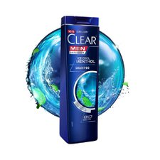 Shampoo Clear Anticaspa For Men Ice Cool Menthol 200ml