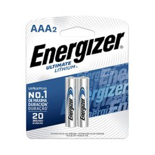 Pilhas Energizer Ultimate Lithium AAA  com 2 Unidades