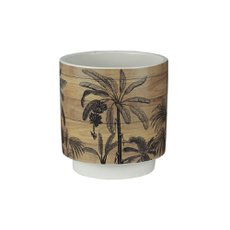 Vaso Cerâmica Tropical 12x13cm Royal 60852