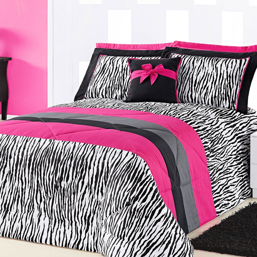Kit Cama Queen Charlote Pink 5 Peças