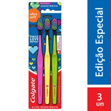 Escova Dental Colgate Ultra Soft Mc 3 unidades