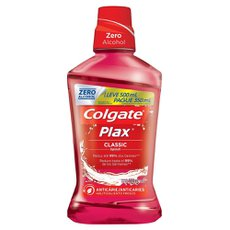 Enxaguante Bucal Plax Classic Leve 500ML Pague 350ML