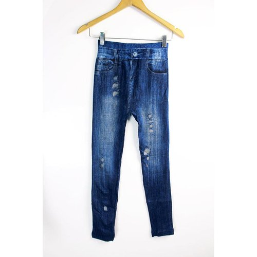 Legging Fake Jeans