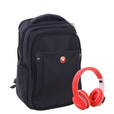 Kit Mochila Masculina Executiva + Headphone Bluetooth 4.2