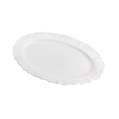 Travessa Porcelana Oval Fancy 33X22X3cm 26664 Wolff