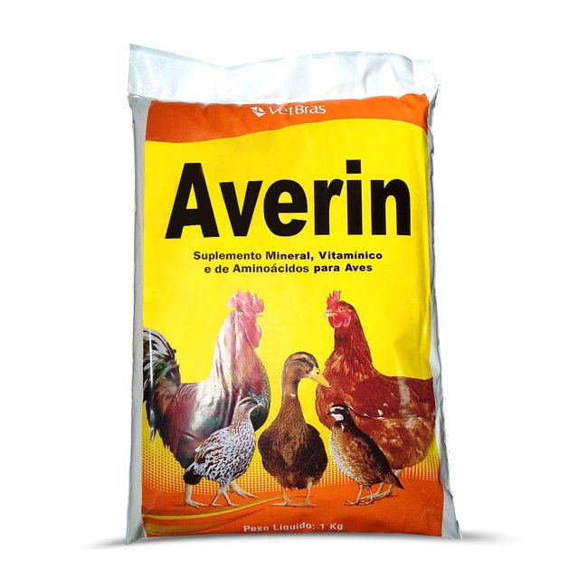 Suplemento Mineral Averin - 1 Kg