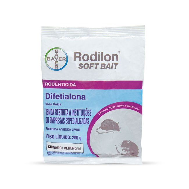 Raticida Rodilon Soft Bait