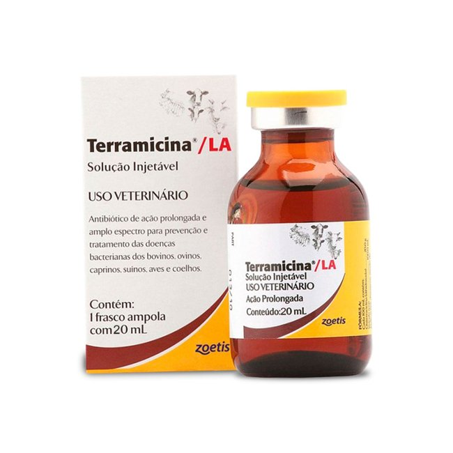 Terramicina La - Oxitetraciclina - Pfizer - 20 ml