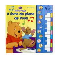 O Livro do Piano de Pooh Disney - Dcl