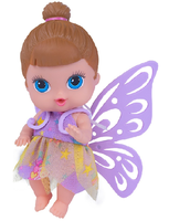 Boneca Babys Collection Mini Fadinha Morena - Super Toys