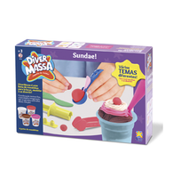 Kit Massinha de Modelar Sundae Diver Massa - Divertoys
