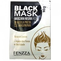 Mascara Mask Black 10G - Fenzza