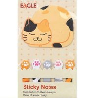 Marcador de Página Stick Notes Gato - Sertic