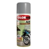 Tinta Spray Alta Temperatura Aluminio - Colorgin
