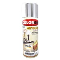 Tinta Spray Metalik Interior Cromado - Colorgin