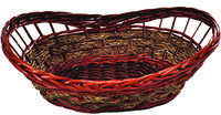 Cesta de Willow Oval - Mundiart