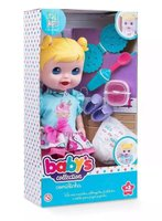 Boneca Babys Collection Comidinha Super Toys