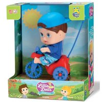 Boneca Little Dolls Playground Triciclo Menino - Divertoys
