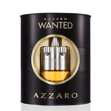 Kit Perfume Masculino Wanted Azzaro Eau de Toilette 100ml + Hidratante Facial 50ml Azzaro