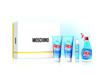 Kit Moschino Fresh Couture Eau de Toilette 50 ml + Gel de Banho 100 ml + Loção Corporal 100 ml Moschino