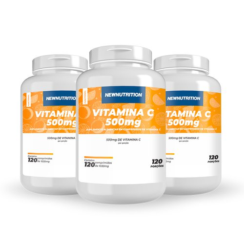 Combo 3 Vitaminas C 500mg