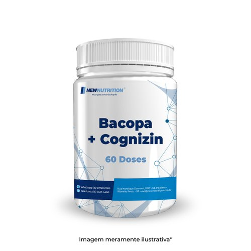 Bacopa 200mg + Cognizin 100mg 60 doses