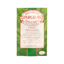 Máscara Facial de Argila Clay Mask Verde – 5g