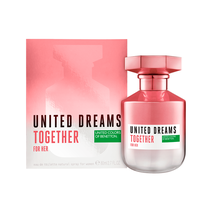 Perfume Feminino Eau de Toilette Benetton United Dreams Together For Her - 80ml