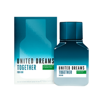 Perfume Masculino Eau de Toilette Benetton United Dreams Together For Him - 100ml