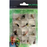 Isca Artificial Mosca Para Fly Balzer 6809 Kit com 12 Iscas