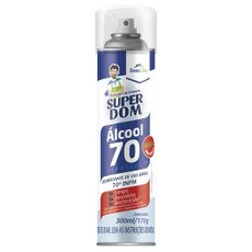 Alcool Spray 70 Super Dom 300ml 170g