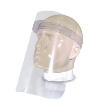 Protetor Facial Transparente - Face Shield. Kit com 100 unidades