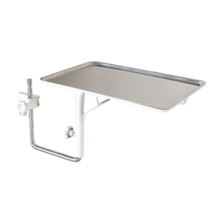 Accessory for Power Procedure Chair. Stainless Steel Instrument Tray for Unique G