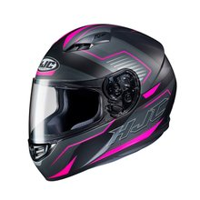 Capacete HJC CS15 MC8SF Trion Cinza/Pink