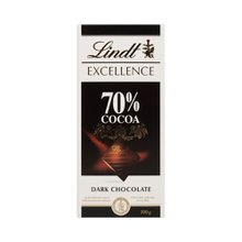 Chocolate Lindt Excellence Dark 70% Cacau 100g