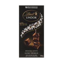 Chocolate Lindt Lindor Extra Dark 100g