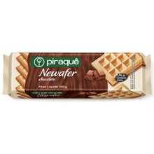Biscoito Piraquê Wafer Newafer Chocolate 100g