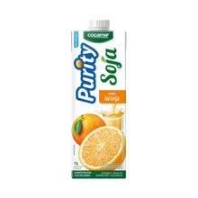 Bebida À Base de Soja Purity Laranja 1l
