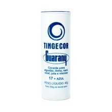 Corante Guarany Tingecor Azul 40g