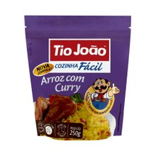 Arroz Tio João Curry 250g