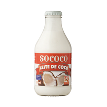 Leite de Coco Sococo Light Vidro 200ml