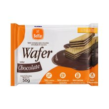 Wafer Chocolate Belfar Sem Glúten E Lactose 50g
