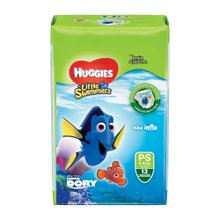 Fralda Huggies Little Swimers P Com 12 Unidades