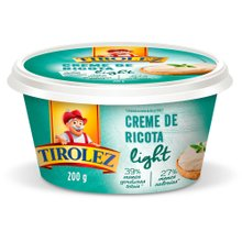 Creme Ricota Tirolez Light 200g