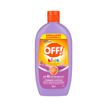 Loção Repelente Off Kids Leve 200ml Pague 117ml