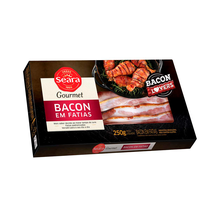 Bacon Defumado Seara Fatiado 250g