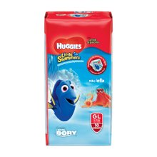 Fralda Huggies Little Swimers G Com 10 Unidades