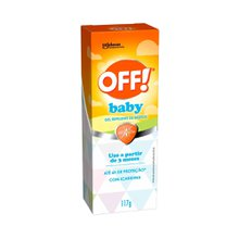Repelente Off Gel Baby 117g