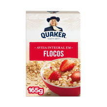 Aveia Quaker Flocos Regulares 165g
