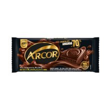 Chocolate Em Barra Arcor 70% Amargo 80g